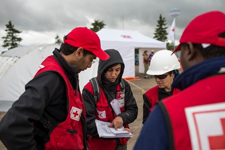 Preparing for a Disaster The Canadian Red Cross Emergency Response Unit In Training